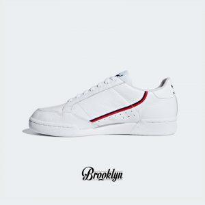 Adidas Continental 80 blanco rojo 2