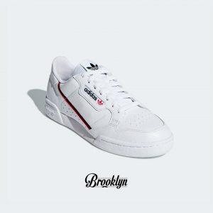 Adidas Continental 80 blanco rojo 4