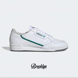Adidas Continental 80 blanco verde 1