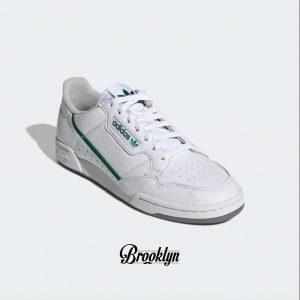 Adidas Continental 80 blanco verde 4