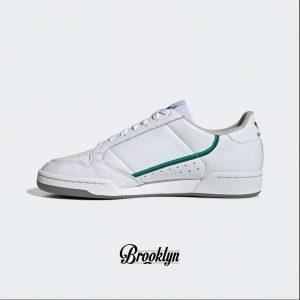 Adidas Continental 80 blanco verde 5