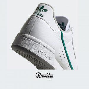 Adidas Continental 80 blanco verde 6
