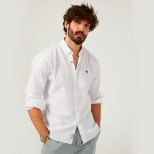 Altonadock camisa lisa blanca 2