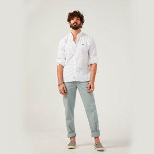 Altonadock camisa lisa blanca 3