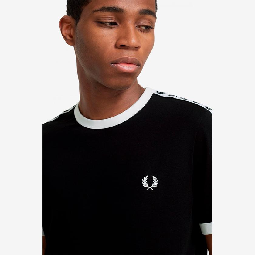 Fred Perry camiseta laurel negro 1