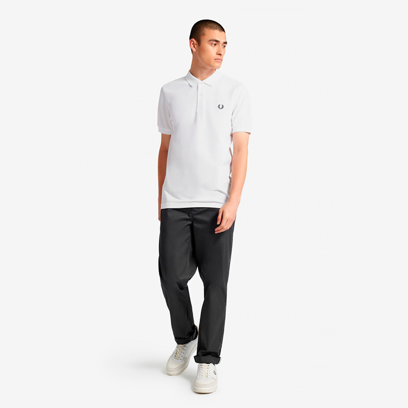 Fred Perry polo blanco 1