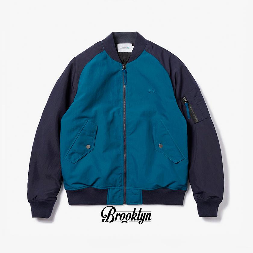 Lacoste chaqueta reversible negro