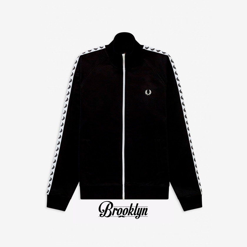 Fred Perry chaqueta laurel negro 1