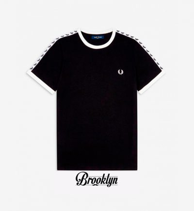 Fred Perry camiseta logo negro
