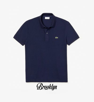 Lacoste polo azul marino slim fit