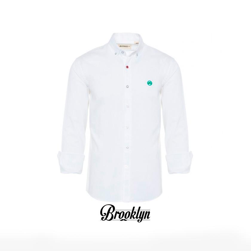 Altonadock camisa lisa blanca