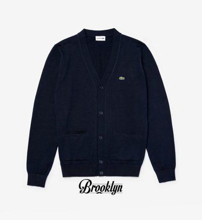 Lacoste chaqueta punto azul marino